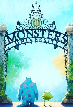 Monsters university - mike and sullivan - disney wallpaper