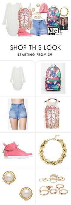 """""""Kickin Wit Daizy"""" by styleonapinch on Polyvore featuring C9 by Champion, adidas, Kendall + Kylie, BUSCEMI and Robert Lee Morris"""