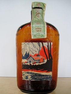 Antique Prohibition WHISKEY Broad Ripple by Prohibition Whiskey The Frankfort Distillery. Edwin Gerdes - Spring 1914 (to Fall 1931)