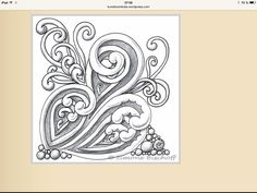 040 Mooka - Diy Crafts for The Home Zentangle Drawings, Doodles Zentangles, Doodle Patterns, Zentangle Patterns, Embroidery Patterns, Zen Doodle, Doodle Art, Mehndi, Doodle Coloring