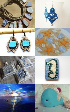 The colours of the sea by Marisarte Bis on Etsy--Pinned with TreasuryPin.com