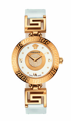 Versace unveils the V-Signature with diamond pavé, a new line of watches, inspired by the latest fashion accessories, reflecting the iconic style and glamorous aesthetics of the Maison. Always love Versace watches. Cartier, Jewelry Accessories, Fashion Accessories, Gold Jewelry, Jewlery, Jewelry Bracelets, Fashion Jewelry, Patek Philippe, Beautiful Watches