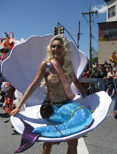 Mermaid in Parade