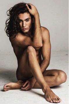 With you Long hair dude nude