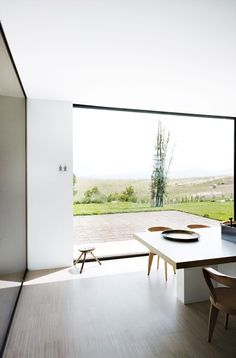 love big windows. via remain simple.