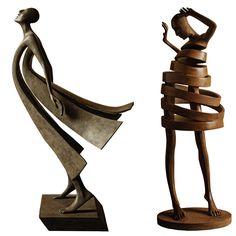 Les Sculptures de Bronze en mouvement de Isabel Miramontes (5)