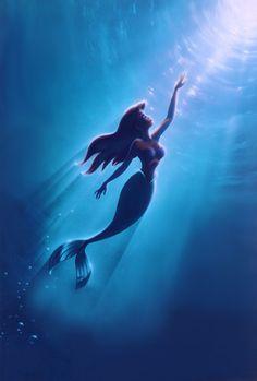 part of your world~ The little #Mermaid, La Sirenita, #Disney character