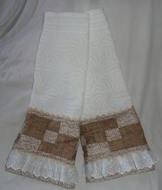 Toalhas em patchwork