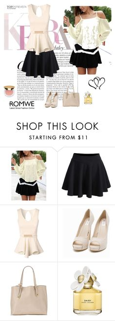 """ROMWE 2"" by maidahadzic ❤ liked on Polyvore featuring Jane Norman, Nly Shoes, maurices, Marc Jacobs and Isaac Mizrahi"