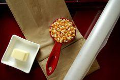 Mi Cocina, Mis Escapadas: DIY amantes de la mantequilla de las palomitas de microondas