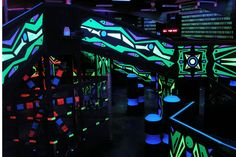 laser tag arena - Google Search Laser Tag, Youth Center, Environment Concept, Bar, Banquet, Overwatch, Arcade, Showers