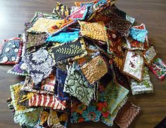 lots of little quiltie things