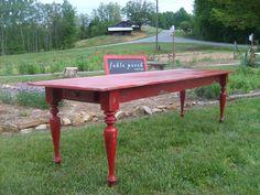 Estate Farmhouse Table