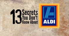 Aldi Secrets [It's my favorite grocery store, too! Final Expense Life Insurance, Aldi Grocery Store, Dump Meals, Dump Recipes, Frugal Recipes, Freezer Meals, Light Bulb Art, Aldi Meal Plan, Healthy Shopping