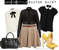 How To Style: Skater Skirt