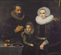 FAMILY PORTRAIT BY DIRCK SANTVOORT