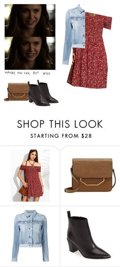 """Elena Gilbert - tvd / the vampire diaries"" by shadyannon ❤ liked on Polyvore featuring Louise et Cie, 3x1 and Acne Studios"
