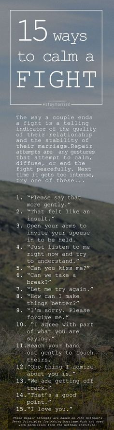 15 ways you can close the distance between you and your spouse during a fight. These phrases are so helpful to keep your marriage healthy!