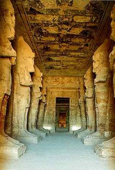 Explore inside of Egyptian pyramids and temples