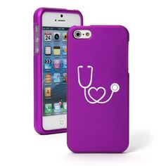 "Apple iPhone 6 (4.7"") Snap On 2 Piece Rubber Hard Case Cover Heart Stethoscope Nurse Doctor (Purple) Daylor http://www.amazon.com/dp/B00ODGF5PC/ref=cm_sw_r_pi_dp_mTdDwb0QZ5J92"