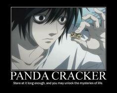 L and his Panda Crackers
