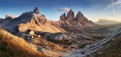 Tre Cime di Lavaredo (Dolomites, Italy)