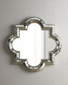 { Quatrefoil Mirror- I'll take 3 please }