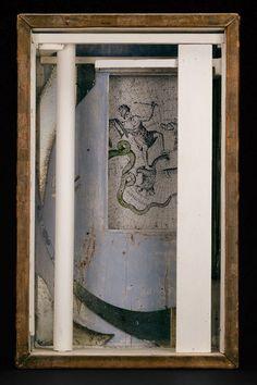 Joseph Cornell (American artist): Pavillion (1953). A mix media god