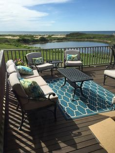Beautiful large deck Dennis, Cape Cod vacation rental on WeNeedaVacation.com ID 27847