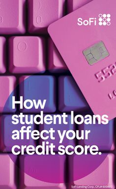 Depending on how they're handled, student loans can be a blessing or a curse for your credit score. Here are 7 things to consider. Student Loan Payment, Student Loans, Financial Peace, Financial Tips, Ways To Save Money, How To Make Money, Receipt Organization, Credit Score, Credit Rating