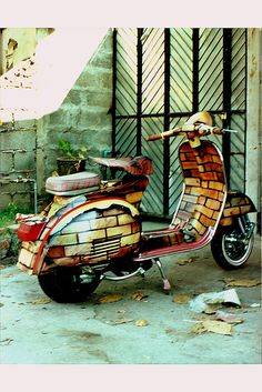Vespa/ Taken with Agfa Agfamatic 3008 in Thailand | Flickr - Photo Sharing!