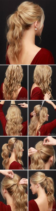 Prom Hair Styles: Groovy Ponytails   Young Craze
