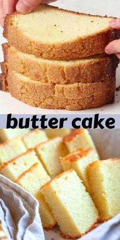 Homemade Cake Recipes, Apple Recipes, Baking Recipes, Baking Ideas, Dessert Recipes, Breakfast Cake, Breakfast Dishes, Best Butter Cake Recipe, Best Sweets