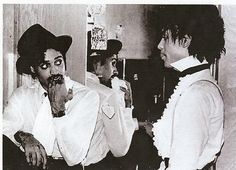 Prince and Morris Day...Rare