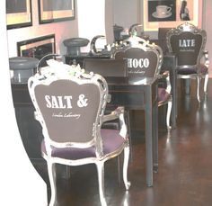 SALT & CHOCOLATE NAIL BAR. This original establishment is far from the time consuming process of doing one's nails. Salt & Chocolate offers clients a chance to purchase original photographs by Terry O'Neill. Nail Bar and Showroom, Salt & Chocolate has unique access to world-known designers, artists and jewellery designers, allowing clients to purchase otherwise inaccessible pieces. Exclusive exhibitions and brand launches are regular events. 107 Walton Street, SW3 2HP.