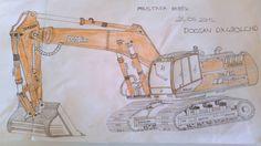 2D  Sketch Elle 2d-3d çizimler