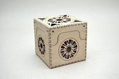 Sun Box - Laser Cut Plywood Box by CedarStreetDesign on Etsy