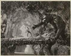 King Kong - A section of this scene, when Kong gets the men on the log bridge, was cut out! The original has most of the men surviving the fall only to be eaten by giant spiders!