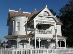 The White Victorian House