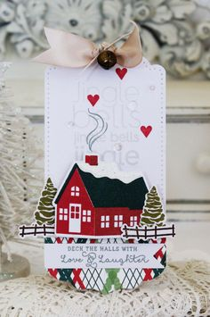 Love & Laughter Tag by Melissa Phillips for Papertrey Ink (September 2016)