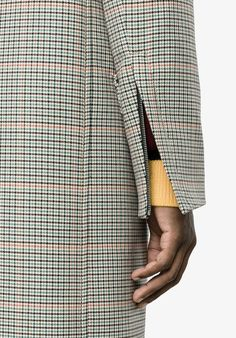 MARNI single breasted check coat from Farfetch (ad, men, style, fashion, clothing, shopping, recommendations, stylish, menswear, male, streetstyle, inspo, outfit, fall, winter, spring, summer, personal)