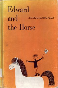 """""""edward and thehorse"""" ann rand and olle eksell 1964"""