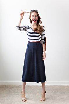 Kate Dress by Sonnet James skirt, fashion, kate dress, cloth, style, outfit, dresses, sonnet jame, stripe