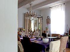 Une salle à manger raffinée : Un mas au charme délicat - Journal des Femmes Décoration