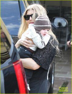 Fergie & her son Axl