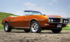 1968 Firebird Convertible, really like that color!