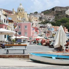 Best places to visit from Naples,  Italy. Procida island