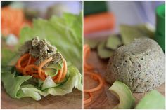 Nut Pulp Pate Wraps - I want to try making almond milk, and here's what to do with the pulp :)