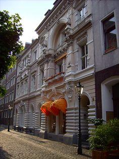 Häuserfassade - Düsseldorf (Altstadt)