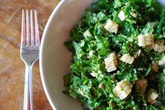 Kale Salad with Fresh Corn - Eating Made Easy #kale #salad #recipe